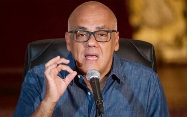 Jorge Rodríguez niega que exista censura a prensa en Venezuela