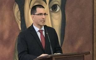 Jorge Arreaza pide a Chile que respete las leyes e instituciones venezolanas