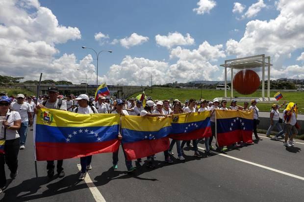 """Oposición marcha este jueves """"contra la represión"""""""