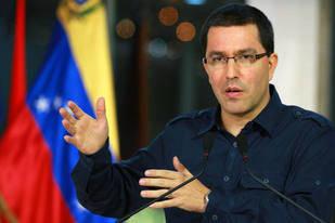Canciller Arreaza cuestionó gira de parlamentarios opositores por Europa