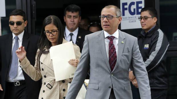 Vicepresidente ecuatoriano a un paso de la Justicia por Odebrecht