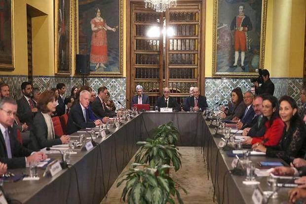 Grupo de Lima se reunirá el 22 de enero para analizar situación venezolana