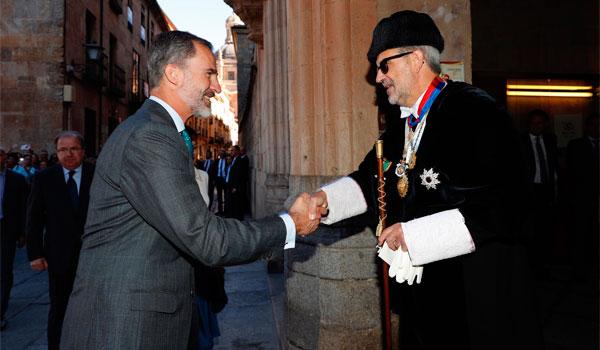 Felipe VI insta a las universidades a formar ciudadanos 'libres y responsables'