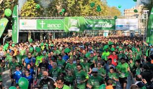 La Marcha contra el Cáncer reúne en Valladolid a 45.000 personas que demandan más fondos para investigación