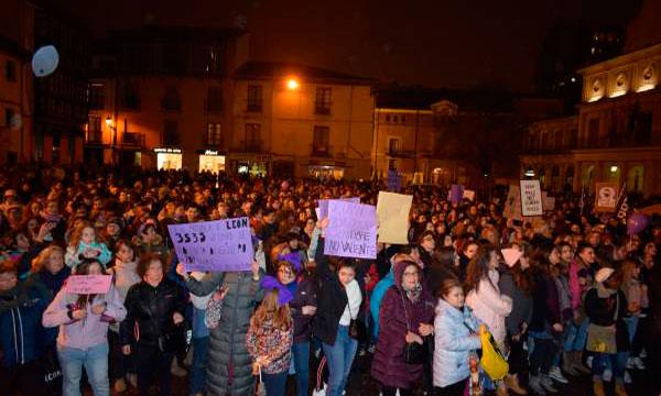 Castilla y León clama contra el machismo