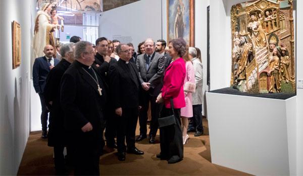 La Reina Sofía, sobre 'Mons Dei': 'Es maravillosa'