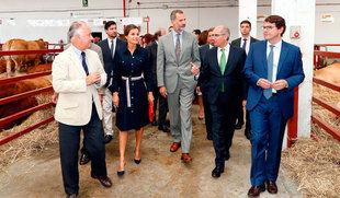 Los reyes de España inauguran una 'histórica' edición de 'Salamaq 2018'