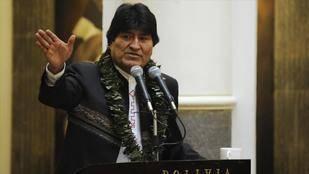 Evo Morales lamenta sanciones de EE.UU. a Venezuela y llama
