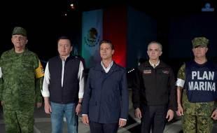 Peña Nieto anuncia 3 etapas de acción tras sismo y pide unidad de mexicanos