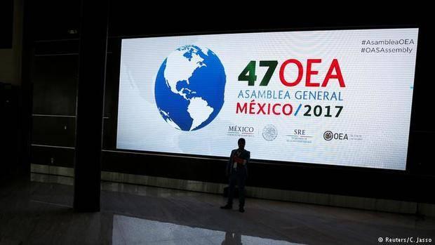 OEA abre este lunes su Asamblea General en Cancún con Venezuela en el foco