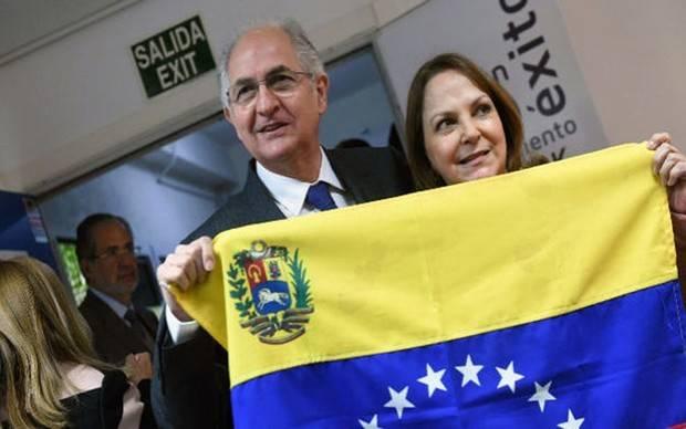 Ledezma no quiere asilo político en España pero sí desea quedarse en el país
