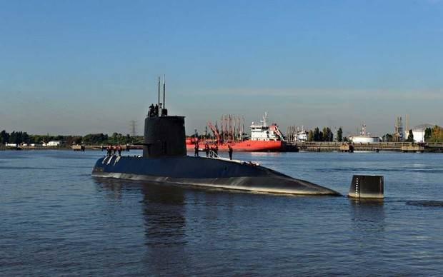 Argentina da por terminado rescate de tripulantes del submarino