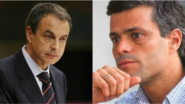 López dijo a Zapatero que la Constituyente pretende aniquilar la república