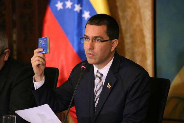 Arreaza: En Venezuela hay una democracia vigorosa