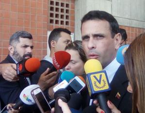 Capriles: Rodríguez Zapatero se equivoca al decir que hay escasez e inflación por falta de diálogo