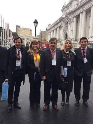 Parlamentos americanos se reúnen en Lima en apoyo a Venezuela