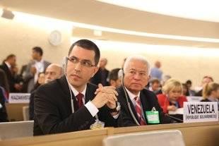 Así se pronunció el canciller Jorge Arreaza ante Consejo de DDHH de la ONU
