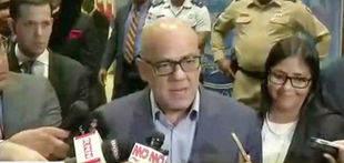 Jorge Rodríguez aseguró que han avanzado en algunos puntos de la agenda de diálogo