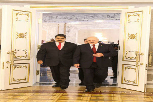 Maduro discutió cooperación económica con autoridades de Bielorrusia