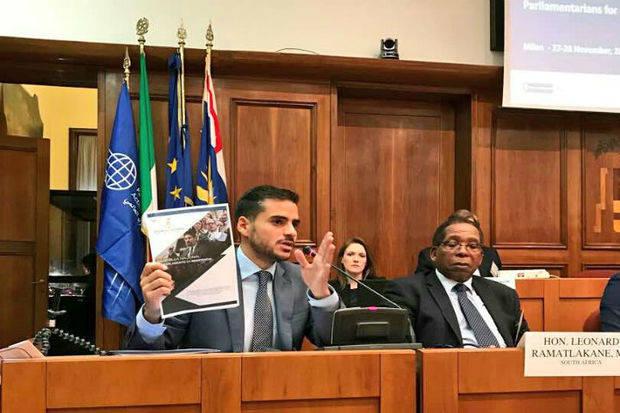 Armas presentó informe sobre Venezuela ante el Foro Anual de Parlamentarios