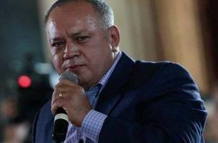 """Diosdado Cabello afirma que en el diálogo no habrá negociación ni cambiará """"nada"""""""