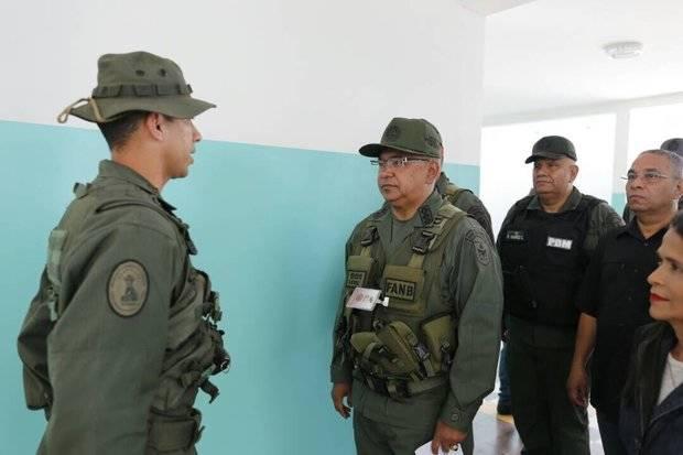 Reverol: Los cuerpos de seguridad se han desplegado en todo el territorio Nacional