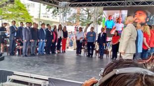 Constituyente juramentó a los alcaldes en sus municipios