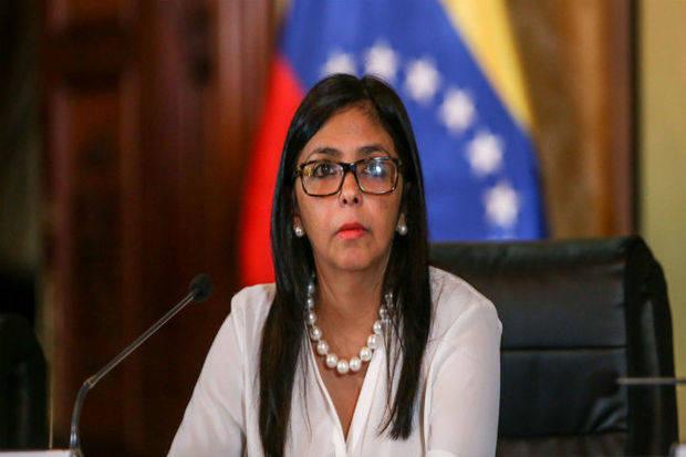 Delcy Rodríguez sostuvo que la mesa está servida para un nuevo proceso electoral