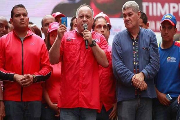 Diosdado Cabello exige justicia por presunto fraude en la recolección de firmas para el revocatorio