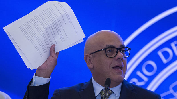Jorge Rodríguez asevera que oposición recibe presiones para no firmar acuerdo