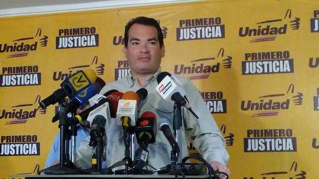 Tomás Guanipa: Encarcelar a opositores no frenará el malestar por la crisis