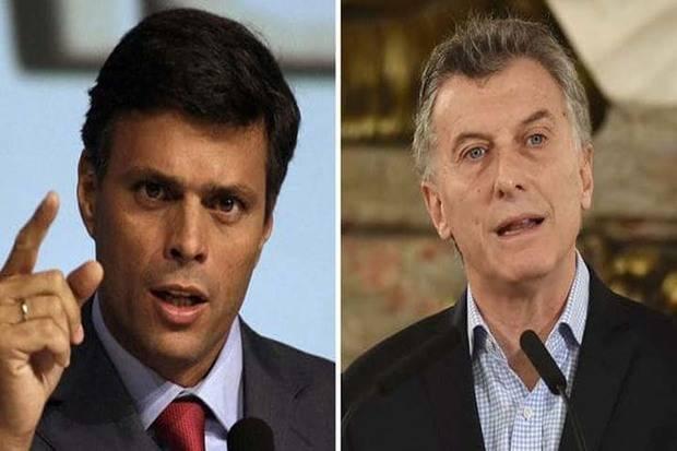 López llama a Macri para agradecer su apoyo durante encarcelamiento