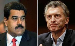 Maduro dice Macri ganó comicios