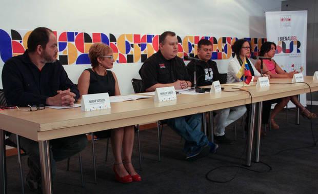 Tres artistas griegos participarán en la primera Bienal del Sur en Venezuela