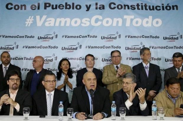 MUD reitera a la OEA que en Venezuela no existe un diálogo