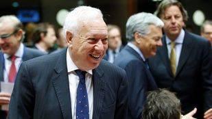 Margallo se reuni� con Zapatero y Rivera y le asegura protecci�n en Venezuela