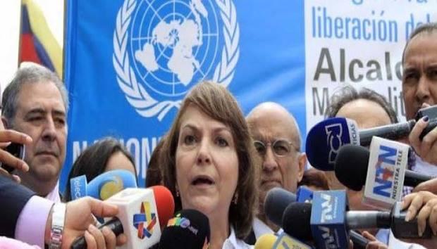 Mitzy Capriles denunció a Nicolás Maduro ante la ONU