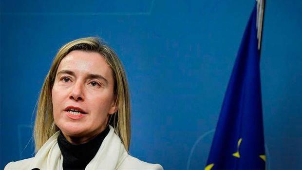 Mogherini: Crisis política y económica