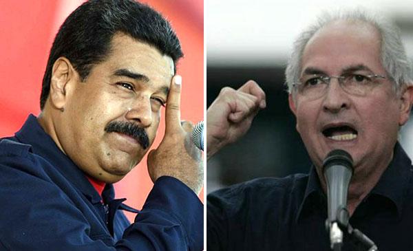 Ledezma afirma que Maduro es un 'genocida'