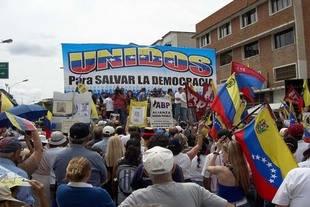 ONG asegura que suspensi�n de referendo pone a Venezuela en