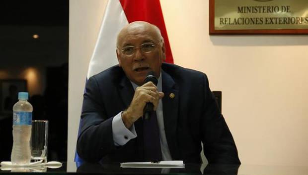 Paraguay expresa apoyo a Almagro y disconformidad con Samper sobre Venezuela
