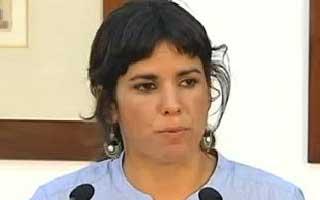 """Teresa Rodríguez sale """"estupefacta"""" trás el """"rechazo de plano"""" de Díaz a sus condiciones"""