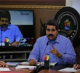 Maduro dice que si bancada opositora quiere revocarlo, irá al 'combate'