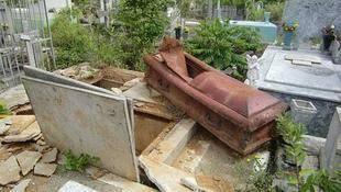 Recrudece profanación en el Cementerio General del Sur