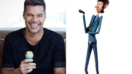 Ricky Martin le dio voz a Herb Overkill en la película Minions