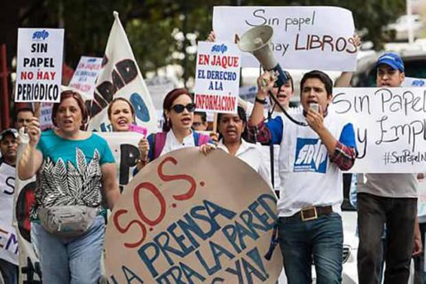 Sindicato prensa venezolano registra 498 violaciones a libertad de expresión