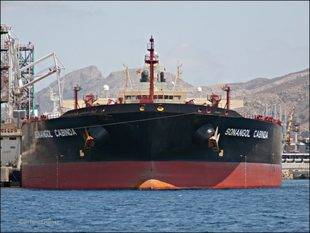 Buque petrolero de BP descarga en Curazao tras espera de 100 d�as por pago de Pdvsa