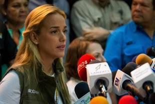 Lilian Tintori cree que huelga de hambre ha producido logros