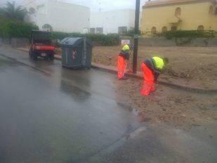 La alerta por lluvias concluye sin incidentes graves en Vera