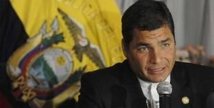 Presidente de Ecuador cree que la oposición en Venezuela